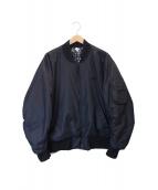 NIKE(ナイキ)の古着「リバーシブルボンバージャケット」|ブラック