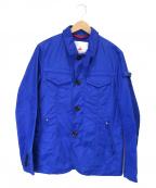 PEUTEREY(ピューテリー)の古着「ハリウッド P1 ナイロンジャケット」 ブルー