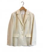 JILL STUART(ジルスチュアート)の古着「ノヴァテーラードジャケット」|ベージュ