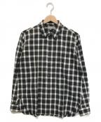 MARGARET HOWELL()の古着「長袖チェックシャツ」|モノトーン