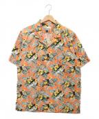 pataloha(パタロハ)の古着「アロハシャツ」|オレンジ
