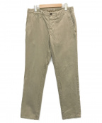 INCOTEX(インコテックス)の古着「ナロー チノパン」|ベージュ