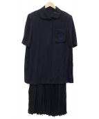 Christian Dior(クリスチャン ディオール)の古着「ヴィンテージセットアップ」|ネイビー