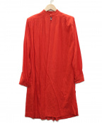 Christian Dior()の古着「ヴィンテージハイネックワンピース」 レッド