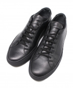 COMMON PROJECTS(コモンプロジェクツ)の古着「レザースニーカー」|ブラック