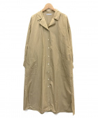 DAMA collection(ダーマコレクション)の古着「シャツワンピース」 ベージュ