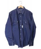()の古着「ウェスタンデニムシャツ」 インディゴ