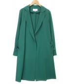 UNTITLED(アンタイトル)の古着「羽織ガウンコート」|グリーン