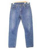 ()の古着「Lot107デニムパンツ」|インディゴ