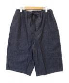 TUKI(ツキ)の古着「big shorts」|インディゴ