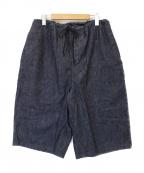 TUKI(ツキ)の古着「big shorts」 インディゴ