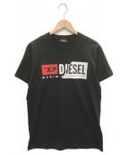 DIESEL(ディーゼル)の古着「ロゴプリントTシャツ」|ブラック