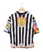 VERSACE(ヴェルサーチ)の古着「総柄グラフィックTシャツ」|マルチカラー