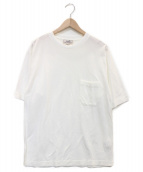 HERMES(エルメス)の古着「カノコクルーネックTシャツ」|ホワイト