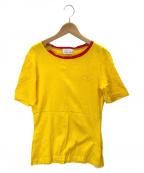 Christian Dior()の古着「ヴィンテージロゴTシャツ」 イエロー