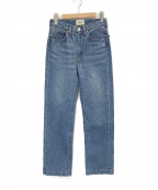 SERGE de bleu(サージ デ ブルー)の古着「DODO USED デニムパンツ」|インディゴ