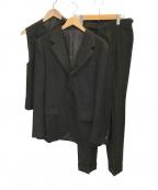 Brilla per il gusto(ブリッラ ペル イルグースト)の古着「チョークストライプセットアップスーツ」|ブラック