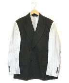 ()の古着「インサイドアウトテーラードジャケット」|ブラック