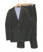 BEAMS PLUS(ビームスプラス)の古着「コーデュロイセットアップ」|チャコールグレー
