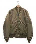 ALPHA(アルファ)の古着「フライトジャケット」|ベージュ