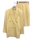 Christian Dior(クリスチャン ディオール)の古着「[OLD] ヴインテージセットアップ」|イエロー