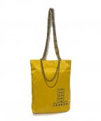 LANVIN COLLECTION(ランバンコレクション)の古着「スタッズデザイントートバッグ」|イエロー