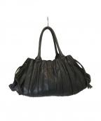 LUPO(ルポ)の古着「デザインレザートートバッグ」|ブラック