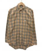 Burberrys()の古着「ノヴァチェックシャツ」 ベージュ