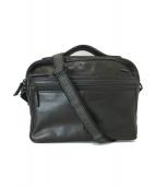 ()の古着「ハンドル付レザーバッグ」|ブラック