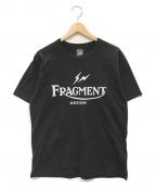NEIGHBORHOOD()の古着「プリントTシャツ」|ブラック