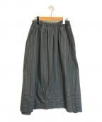 pas de calais(パドカレ)の古着「コットンギャザースカート」|グレー