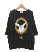 "Vivienne Westwood man()の古着「""バニーインフレーム""Tシャツ」 ブラック"