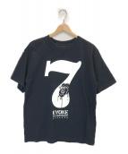 ()の古着「7周年記念 ロゴプリントTシャツ」|ブラック