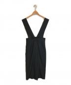 NOLLEY'S()の古着「ジャンパースカート」|ブラック