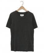 Maison Margiela 10(メゾンマルジェラ 10)の古着「GARMENT DYED T-SHIRT/Tシャツ」 ブラック
