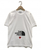 PLAY COMME des GARCONS × THE NORTH FACE(プレイ コムデギャルソン×ザノースフェイス)の古着「Cdg Play The North Face X Play」|ホワイト