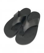 PADRONE(パドローネ)の古着「TONG SANDAL トングサンダル」 ブラック