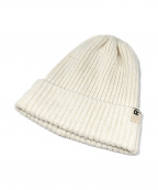 RHC Ron Herman(アールエイチシー ロンハーマン)の古着「コットンリネンリブニット帽」|ホワイト