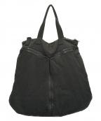 JULIUS(ユリウス)の古着「pad tote bag/トートバッグ」 ブラック