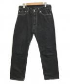 TONE(トーン)の古着「SCALLIES DENIM/デニムパンツ」|ブラック