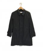 BEAUTY&YOUTH(ビューティアンドユース)の古着「パーテックス ステンカラーコート」 ブラック
