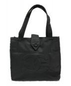 ()の古着「ココマーク ナイロンハンドバッグ」|ブラック