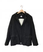 C.P COMPANY(シーピーカンパニー)の古着「キルトウール3Bジャケット」|グレー