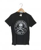 Mastermind JAPAN(マスターマインド ジャパン)の古着「スカルロゴ プリントTシャツ」|ブラック