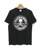 Mastermind JAPAN(マスターマインド ジャパン)の古着「スカルロゴプリントTシャツ」|ブラック