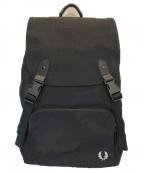FRED PERRY(フレッドペリー)の古着「Flap Rucksack」|ブラック