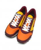 BROOKS(ブルックス)の古着「ローカットスニーカー」|レッド×オレンジ