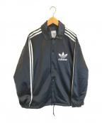 adidas Originals(アディダスオリジナル)の古着「Satin Coach JKT」 ブラック