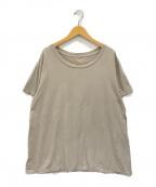 DEUXIEME CLASSE(ドゥーズィエム クラス)の古着「Loose Tシャツ」 ベージュ