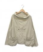 慈雨(ジウ)の古着「デザインジャケット」|ベージュ